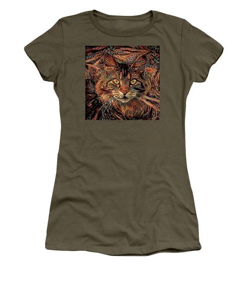Maine Coon Cat Women's T-Shirt