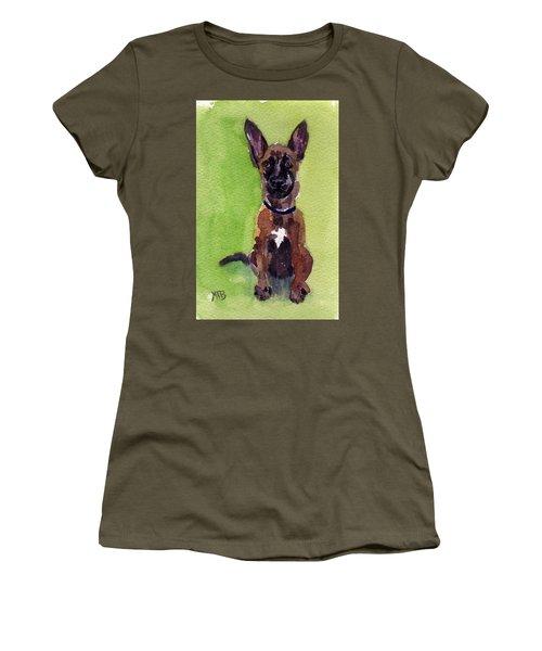 Malinois Pup 2 Women's T-Shirt