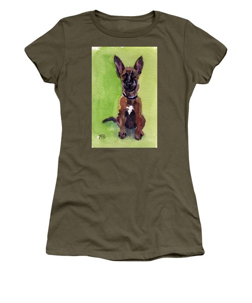 Malinois Pup 2 Women's T-Shirt