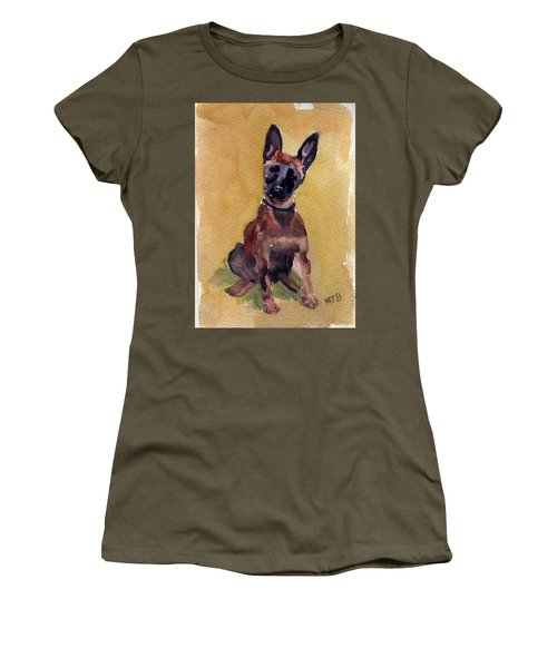 Malinois Pup Women's T-Shirt