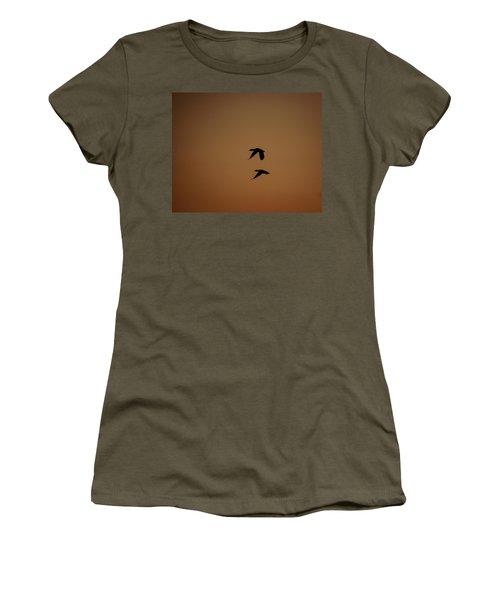 Mallard Morning Women's T-Shirt