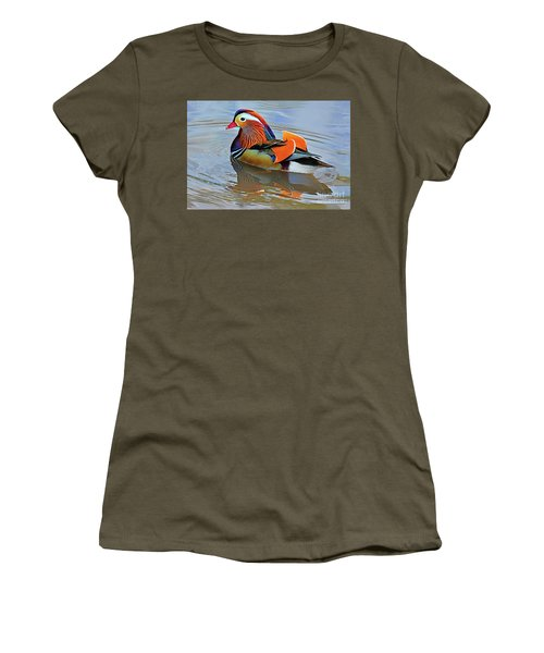 Mandarin Duck Central Park-12 Women's T-Shirt
