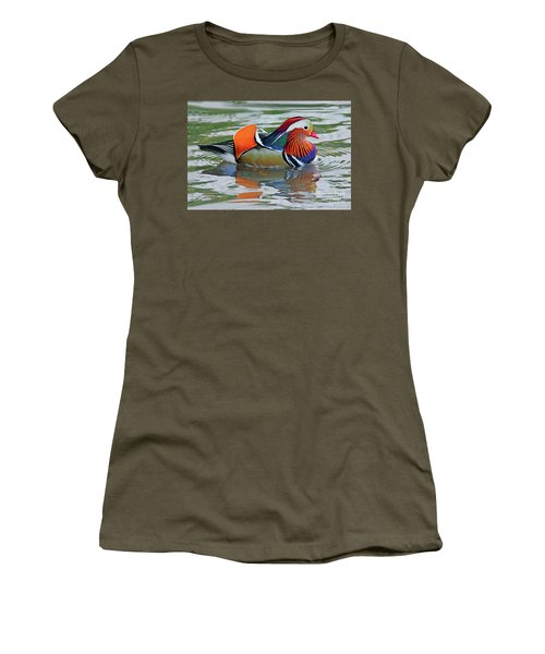 Mandarin Duck-central Park-13 Women's T-Shirt