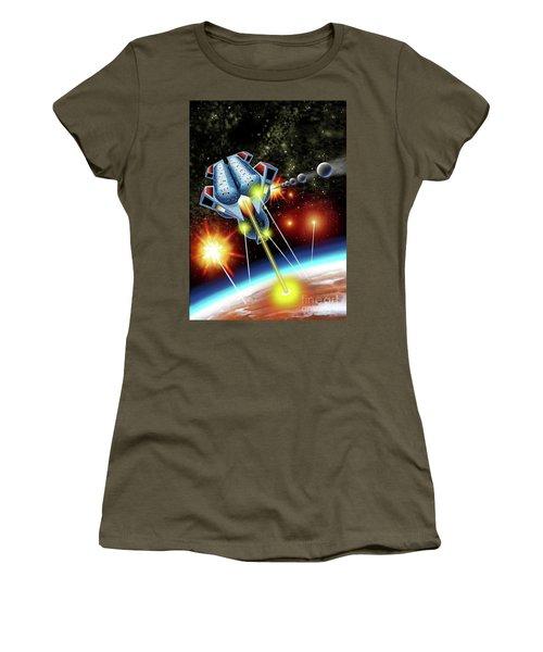 Mangle Atacks Nisip Women's T-Shirt