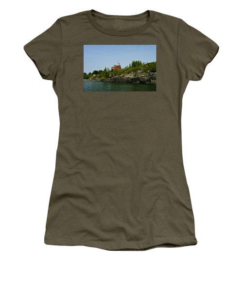Marquette Michigan Lighthouse Women's T-Shirt
