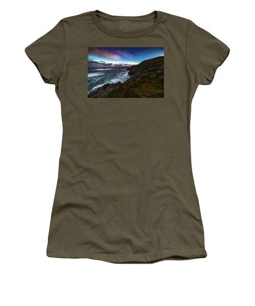 massive storm near Nyksund Women's T-Shirt