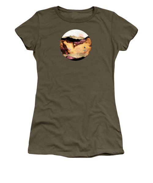 Mauve And Gold Mountains Women's T-Shirt