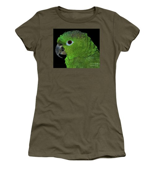 Women's T-Shirt featuring the photograph Mealy Amazon by Debbie Stahre