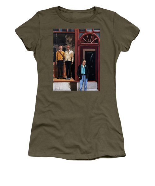 Men's Fashion Oil Painting Women's T-Shirt
