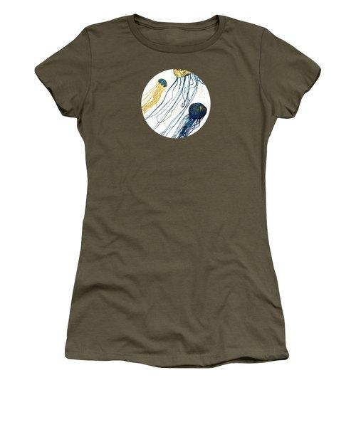 Metallic Jellyfish II Women's T-Shirt