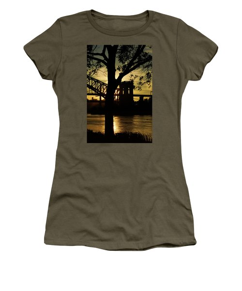 Mid Autumn Silhouette Women's T-Shirt