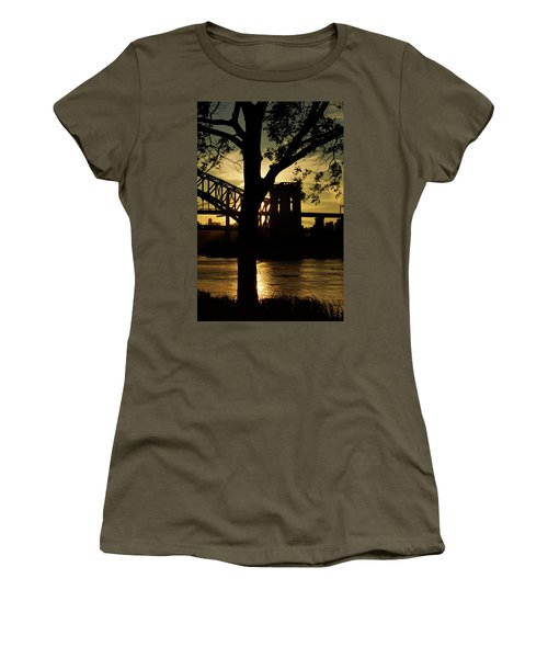Mid Autumn Silhouette Women's T-Shirt