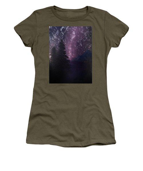 Milky Way Lake Women's T-Shirt