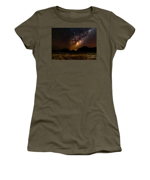 Milkyway Over Spitzkoppe 2, Namibia Women's T-Shirt