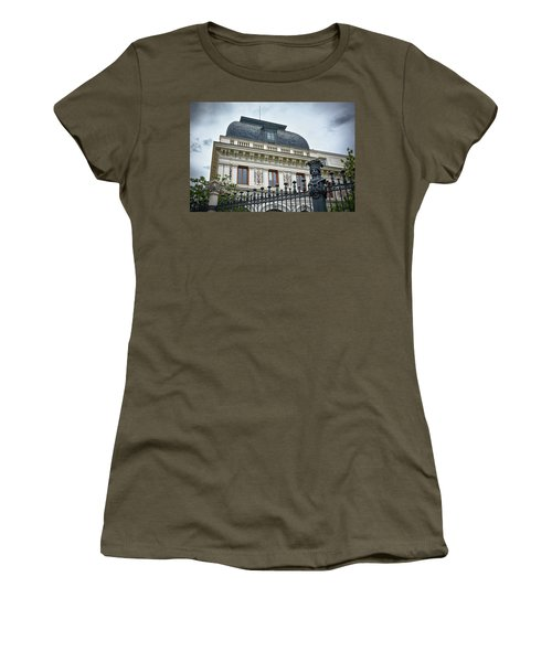 Ministry Of Agriculture Building Of Madrid Women's T-Shirt