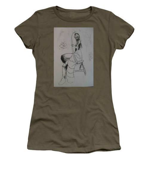 model named Chieh two Women's T-Shirt
