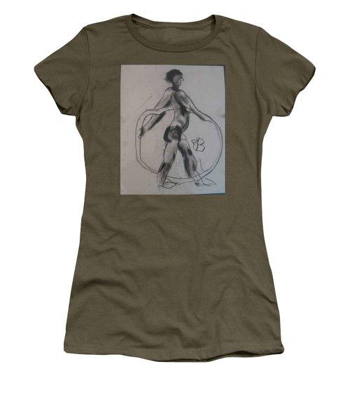 model named Guy Women's T-Shirt