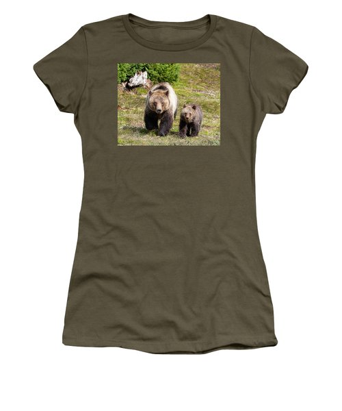 Mom And Cub Women's T-Shirt
