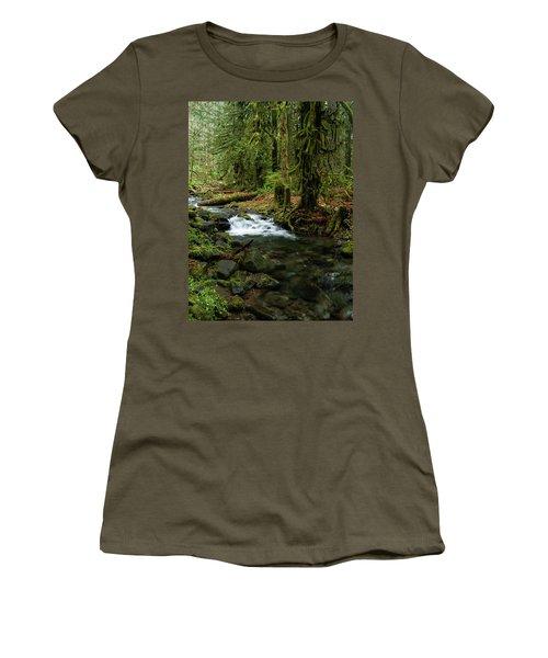 Mossy Cascade Women's T-Shirt