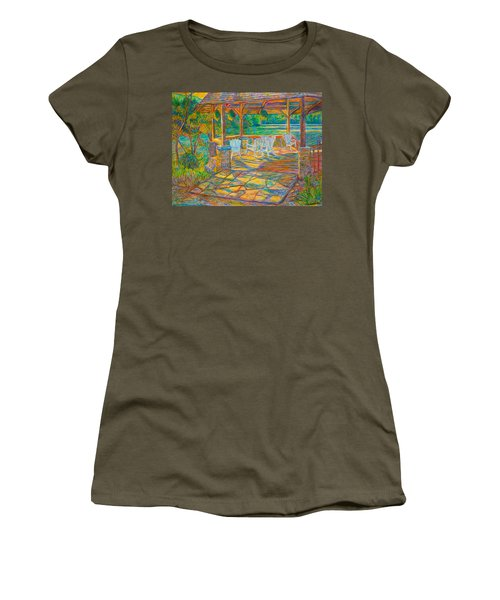 Mountain Lake Shadows Women's T-Shirt