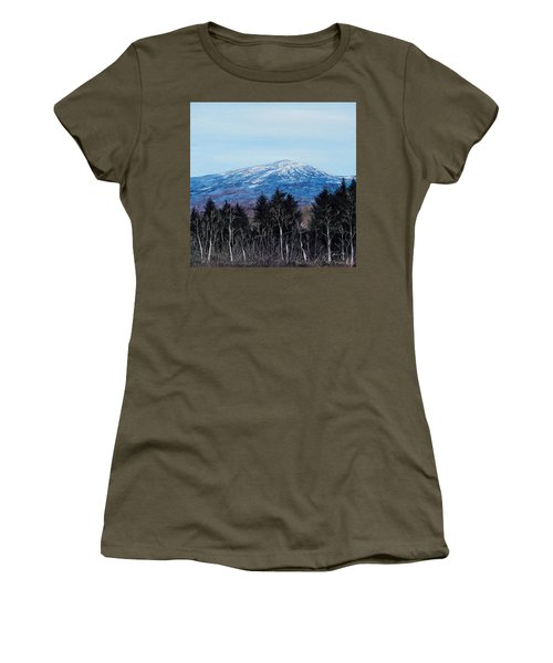 Mt. Monadnock Spring Snow Women's T-Shirt