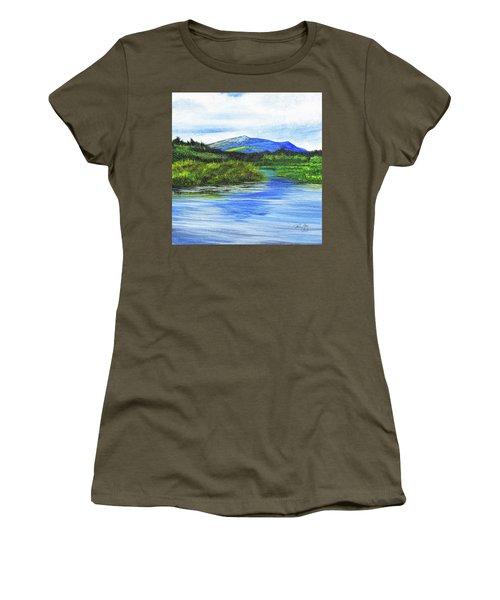 Mt. Monandnock From Scott Brook Women's T-Shirt