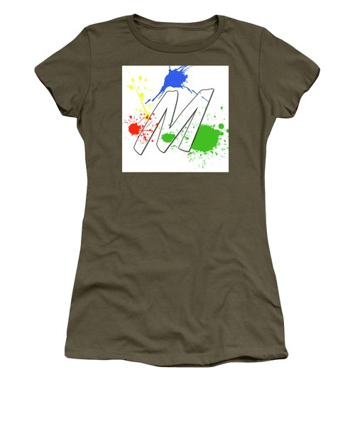 Women's T-Shirt featuring the digital art MTM by Meet the Masters
