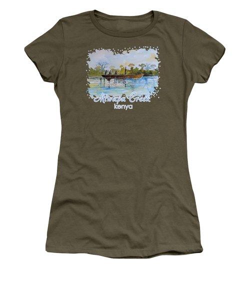 Mtwapa Creek Kenya Women's T-Shirt