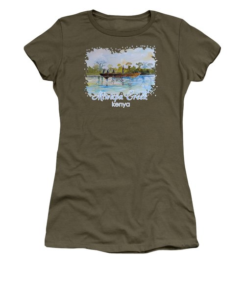 Mtwapa Creek Kenya Women's T-Shirt