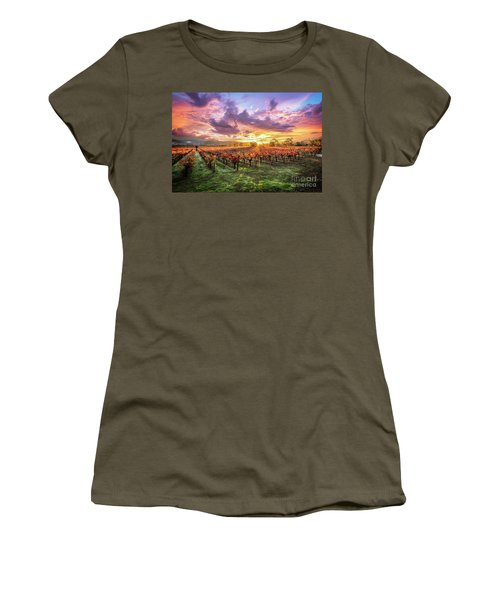 Napa Sunrise Women's T-Shirt