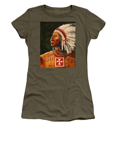 Native American Indian Chief Women's T-Shirt