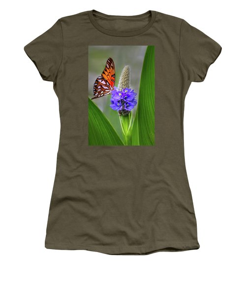 Women's T-Shirt featuring the photograph Nature's Beauty by James Woody