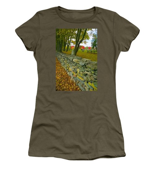 New England Stone Wall 2 Women's T-Shirt