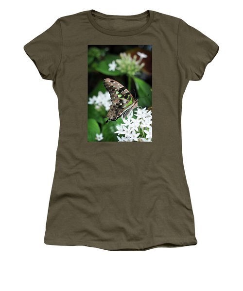 Women's T-Shirt featuring the photograph Nicely by Michelle Wermuth
