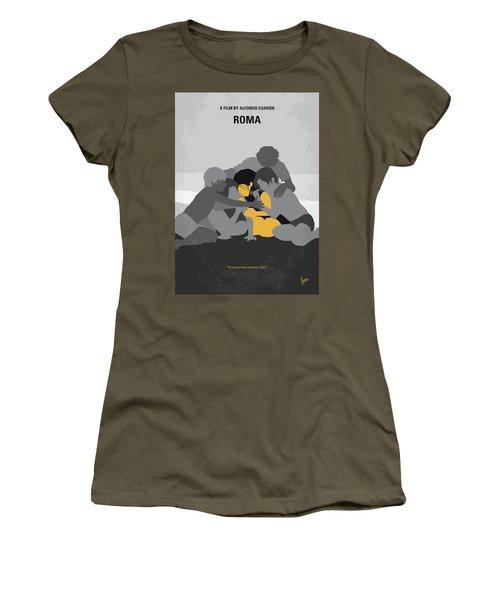 No1035 My Roma Minimal Movie Poster Women's T-Shirt