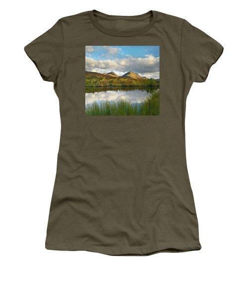 Ogilvie Mountains Reflection, Tombstone Women's T-Shirt