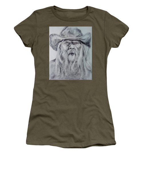 Old Man In A Hat  Women's T-Shirt