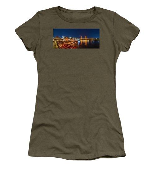 Old Sacramento Panorama Women's T-Shirt