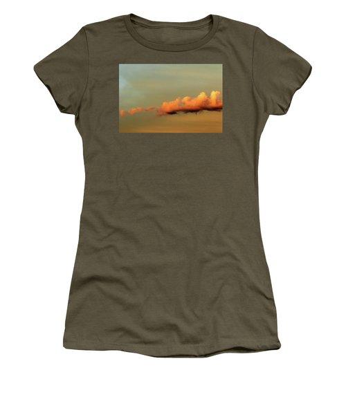 Orange Clouds Women's T-Shirt