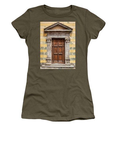 Ornate Door Of Tuscany Women's T-Shirt