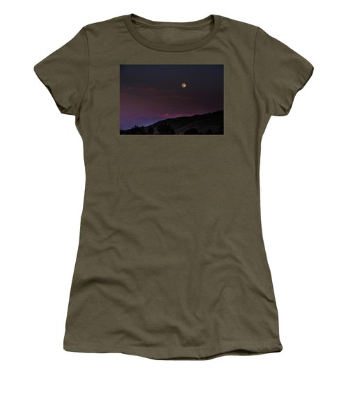 Women's T-Shirt featuring the photograph Over The Border by Alex Lapidus