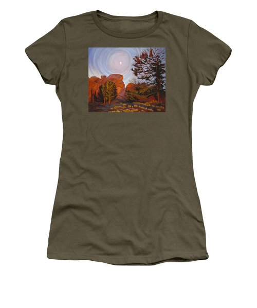 Pale Moon Over Vedauwoo Women's T-Shirt