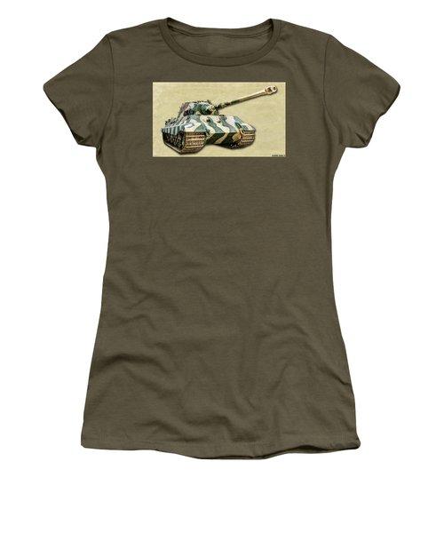 Panzer Vi Tiger II Canvas Women's T-Shirt