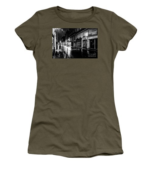 Paris At Night - Rue Saints Peres Women's T-Shirt