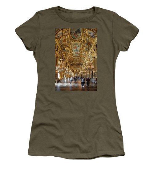 Women's T-Shirt featuring the photograph Paris Opera by Jim Mathis