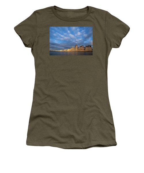 Parliament On The Danube Women's T-Shirt