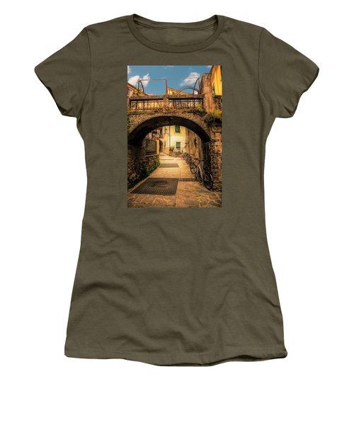 Passageway In Monterosso Women's T-Shirt