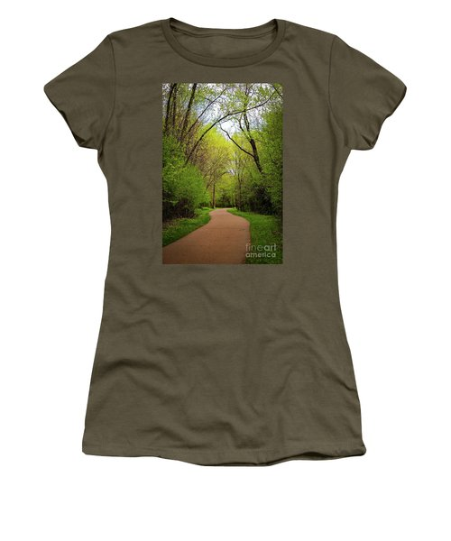 Path In The Forest Women's T-Shirt