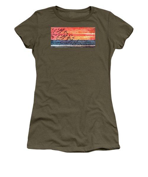 Patriotic Sunrise Women's T-Shirt