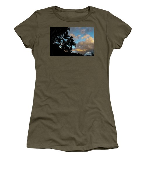 Peach Sunset  Women's T-Shirt